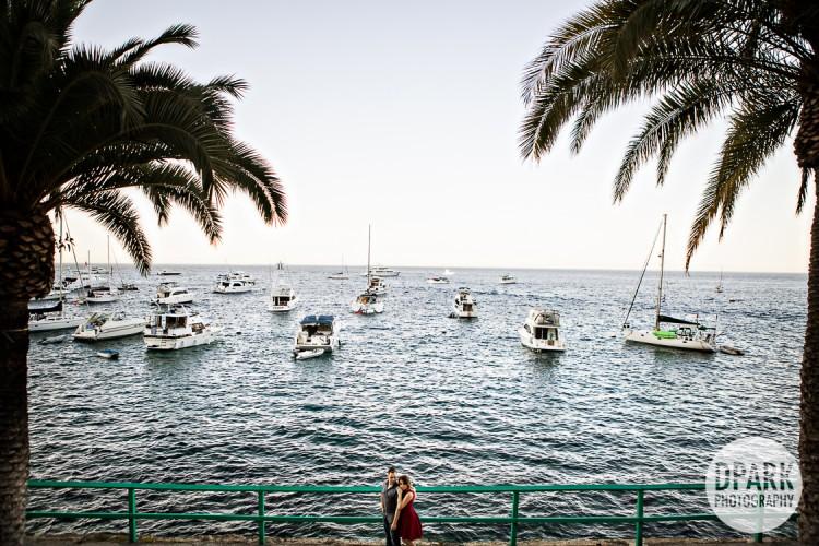 Catalina Island Avalon Engagement  Celebrity Destination OC LA Worldwide Wedding Photo and Film