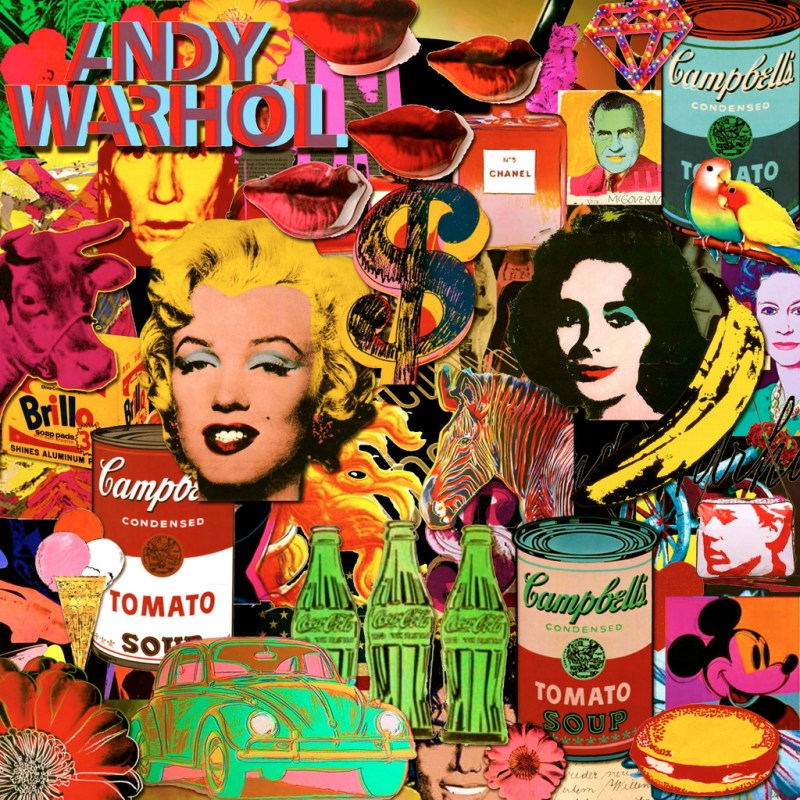 Collage de Andy Warhol
