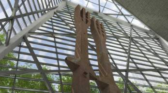 9/11 Museum Tridents- Entry to the Museum