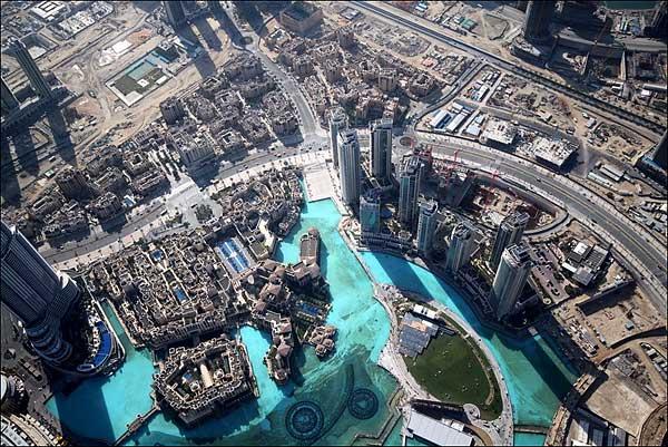 Dubai vue depuis la Burj Khalifa