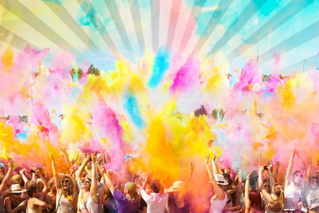 HOLI ONE Colour Festival UK