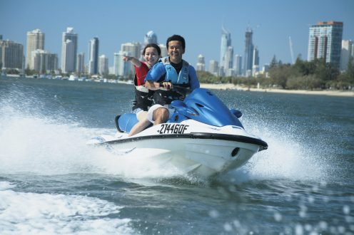 121388 Learning to Jet-ski Credit Tourism and Events Queensland; Destination Queensland