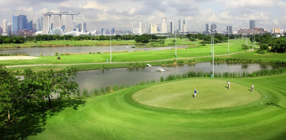 Marine Bay Golf Course Singapore