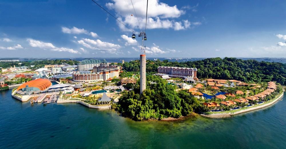Sentosa Island Tour, Singapore