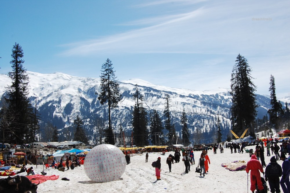 SolangValley, Honeymoon trip to Manali
