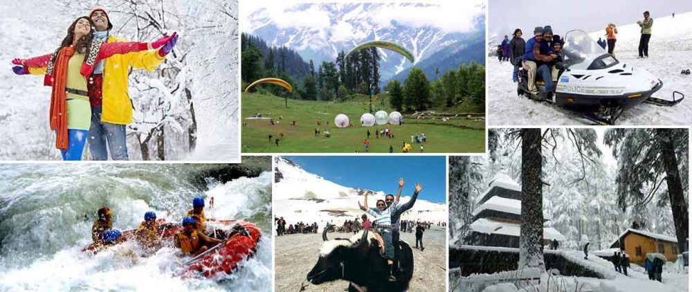 Honeymoon trip to Manali