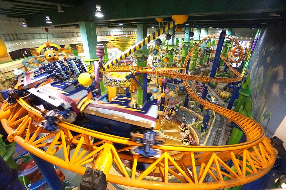 Times Square Theme Park , Roller Coaster