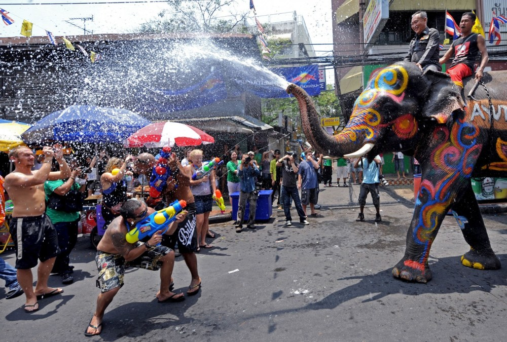 water Festival in Thailand