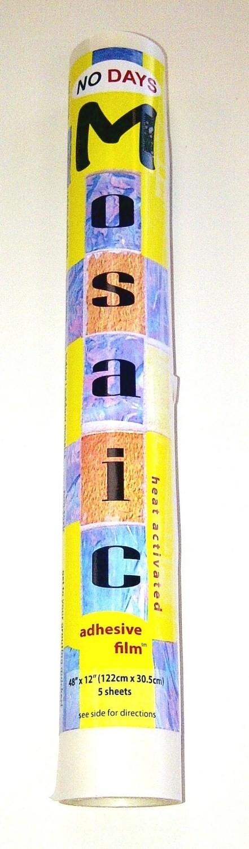 NO Days Mosaic Adhesive Film, 2 sheets, 8 sqft