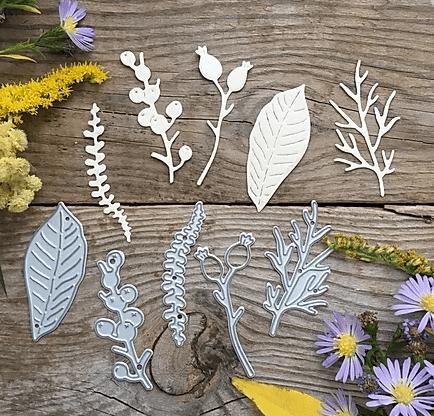 MIMICUT Metal Die Herbarium III