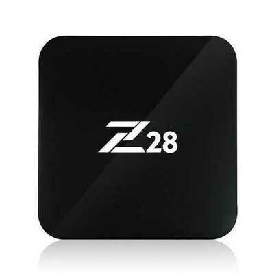 Z28 RK3328 Quad Core 2GB RAM 16GB ROM Android 7.1 2.4G WiFi 100M LAN 4Kx2K 60fps H.265 HEVC Android TV Box Mini PC