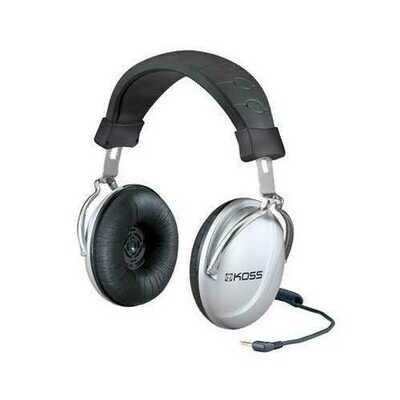 Stereo Headphone Silver