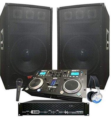 DJ System - 4100 WATT DJ System  Sound System