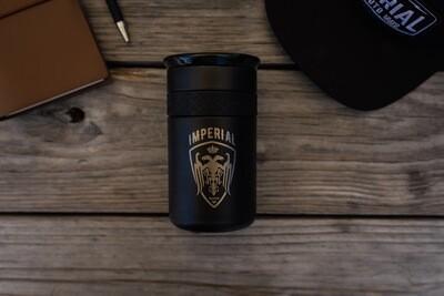 Elemental 12 Oz Coffee Tumbler - BLACK