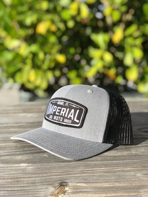 Imperial Moto 2.0 Trucker - HEATHER GREY, BLACK