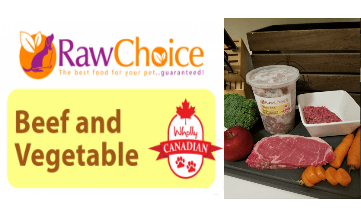 RawChoice Beef and Vegetable (2Lb) 0002