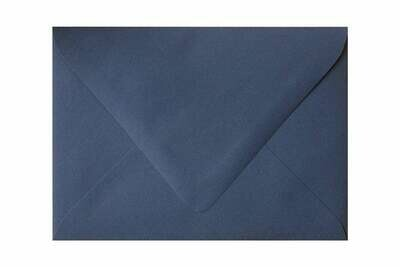 Sobre rectangular 13.7 x 18.7 cm 100g Burano Azul Marino