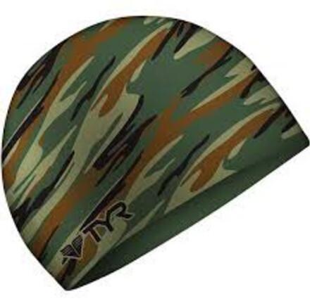 Шапочка для плавания TYR CAMO Silicone Cap