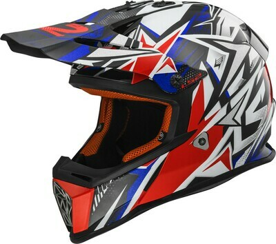 CASCO LS2 CROSS MX 437 FAST col. STRONG
