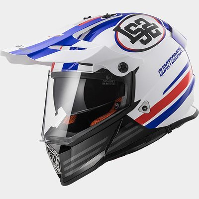 CASCO LS2 CROSS MX 436 PIONEER col. QUARTERBACK