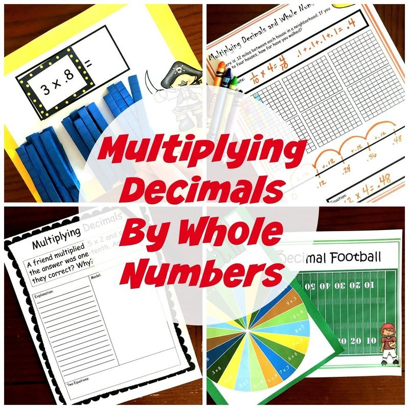 Multiplying Tenths By Whole Numbers
