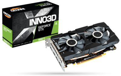 INNO3D GEFORCE GTX 1660 TI TWIN X2 6GB GRAPHIC CARD