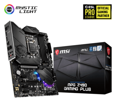 MSI MPG Z490 Gaming Plus Gaming Motherboard