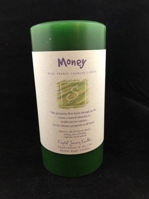 Herbal 3x6 Pillar - Money
