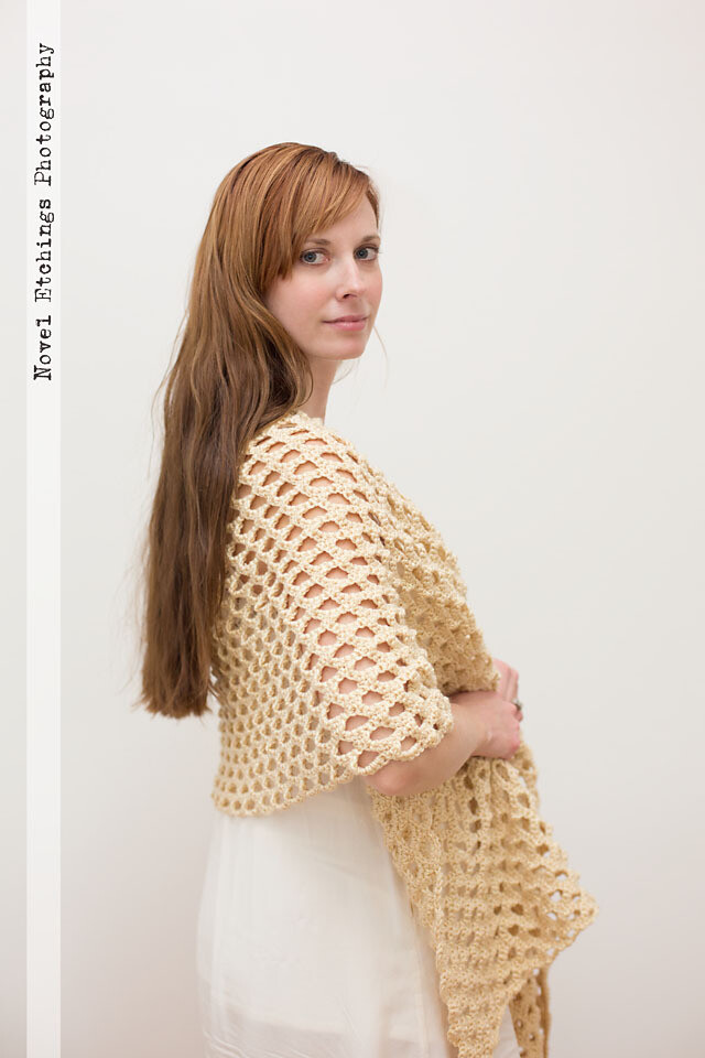 Honeycomb Shawl Crochet Pattern