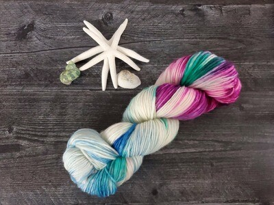 Under the Sea Hand Dyed Yarn RTS