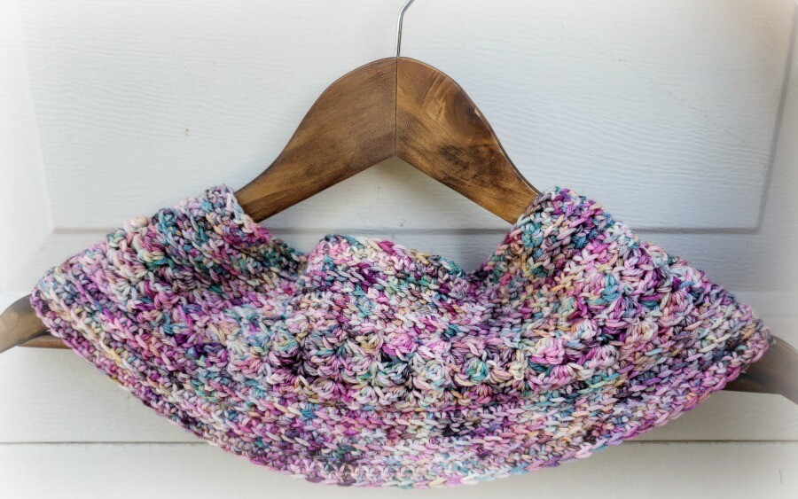 Wildflowers Cowl Crochet Pattern