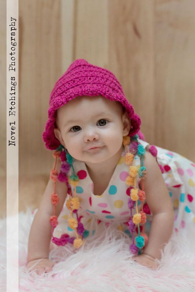 Sweet Pea Bonnet Crochet Pattern