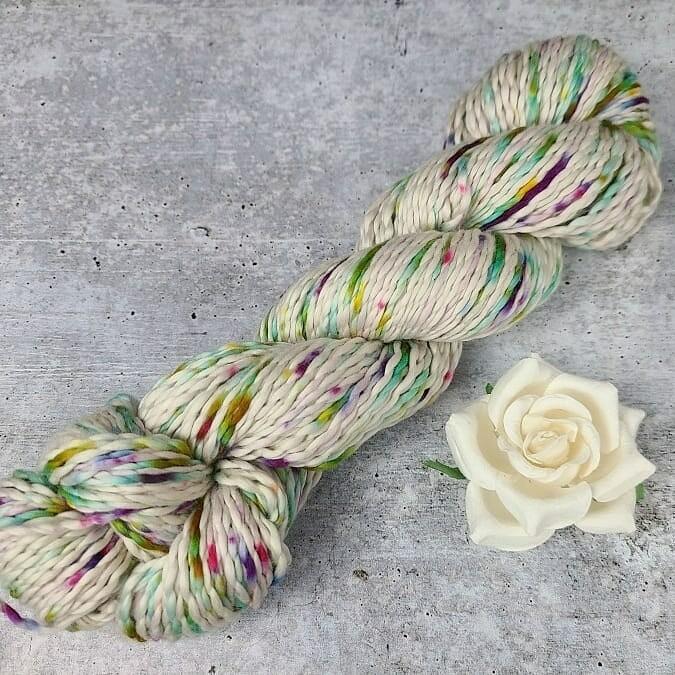 Flower Garden Cotton Hand Dyed Yarn