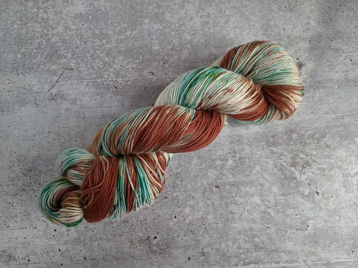 Into the Woods Cotton Hand Dyed Yarn