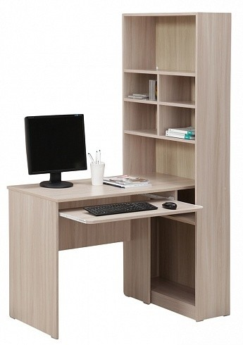 Стол компьютерный со стеллажом 10.04 (1372х720х1770)