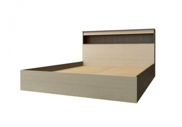 Кровать с прикроватным блоком КРБ