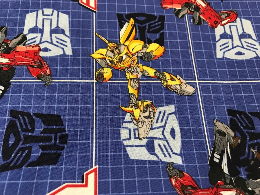 Transformers Premium Face Mask