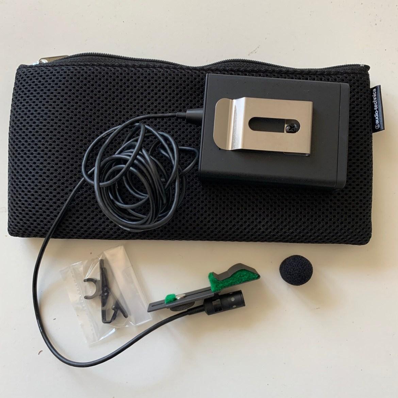 micro Audio Technica Pro 70