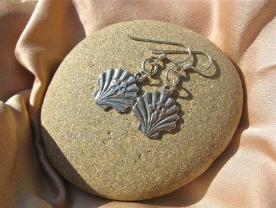 Compostela earrings ~ ft St James cross