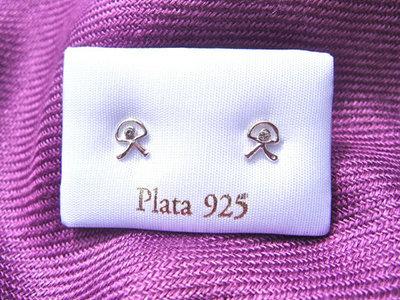 Indalo stud earrings ~ silver