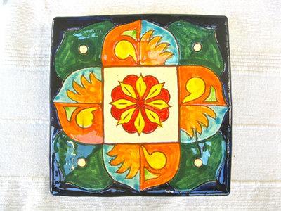 Spanish plate ~ herald, square