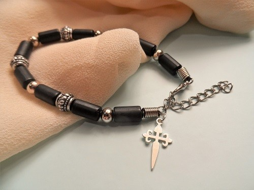 Cruz de Santiago / Cross of St James bracelet