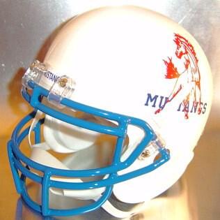 Midland Christian Mustangs HS 1990-1995 (TX) (mini-helmet)
