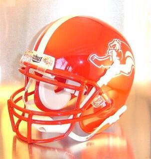 Socorro Bulldogs HS 2009 (TX) (mini-helmet)