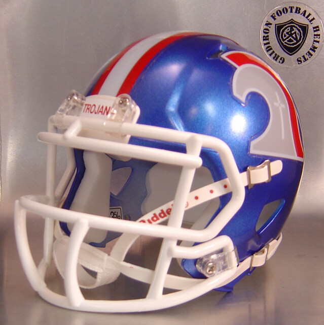 Trinity Christian Trojans HS 2014-2019 (TX) (mini-helmet)