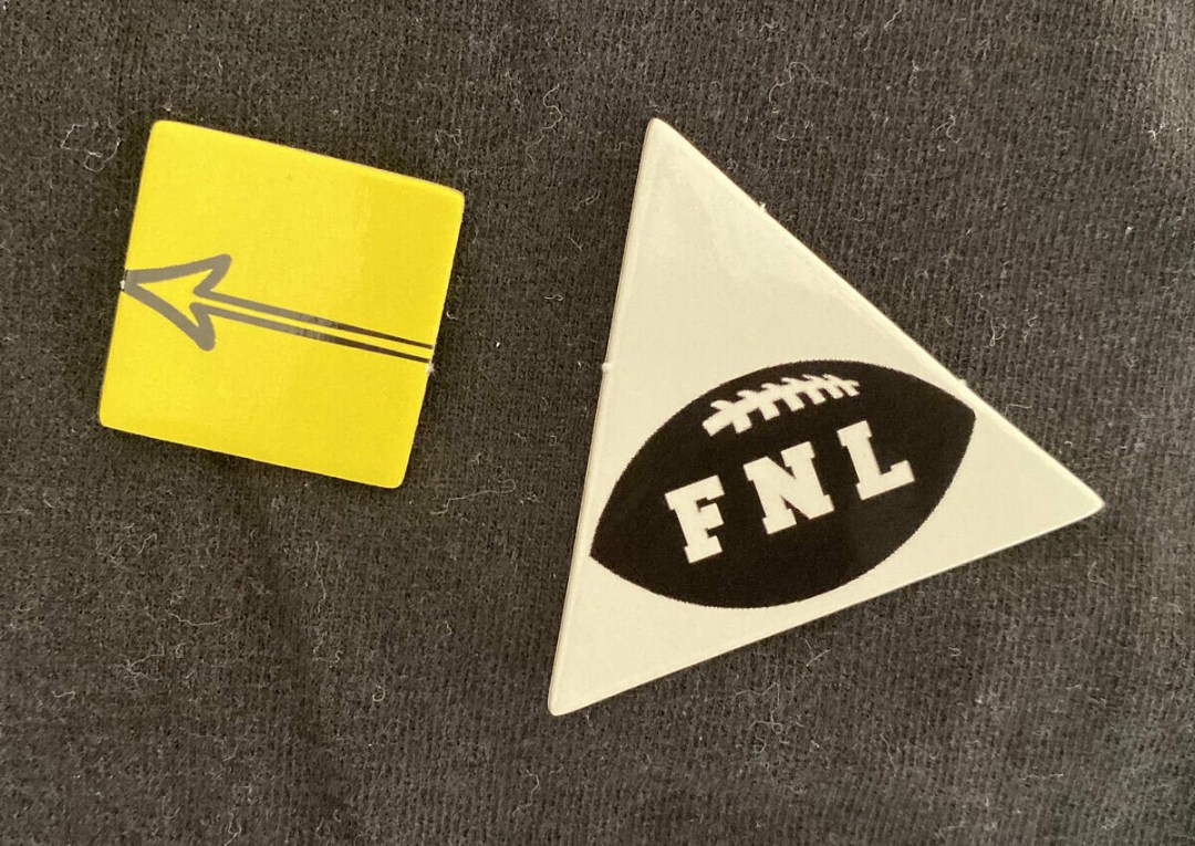 Football & 1st down markers