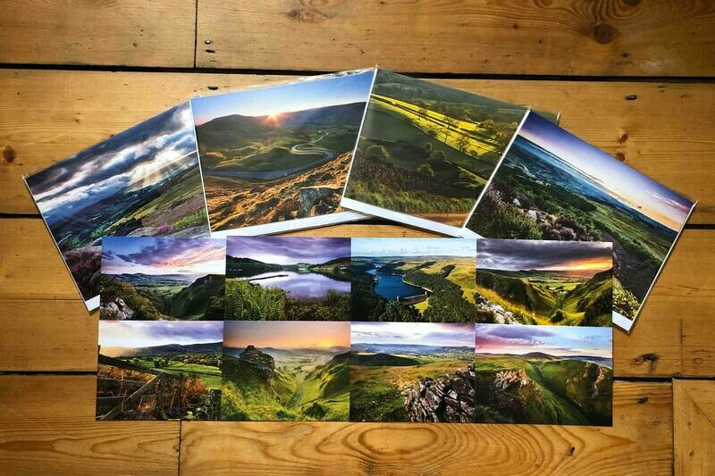 Peak District Greeting Card and Postcard Bundle [Free UK Delivery]