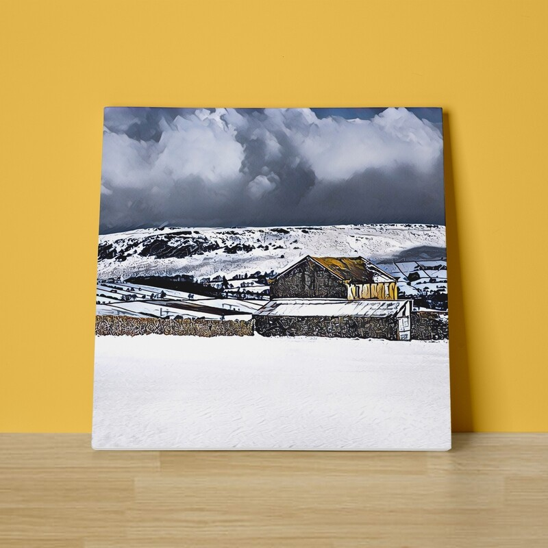 A Winter Day Canvas Print
