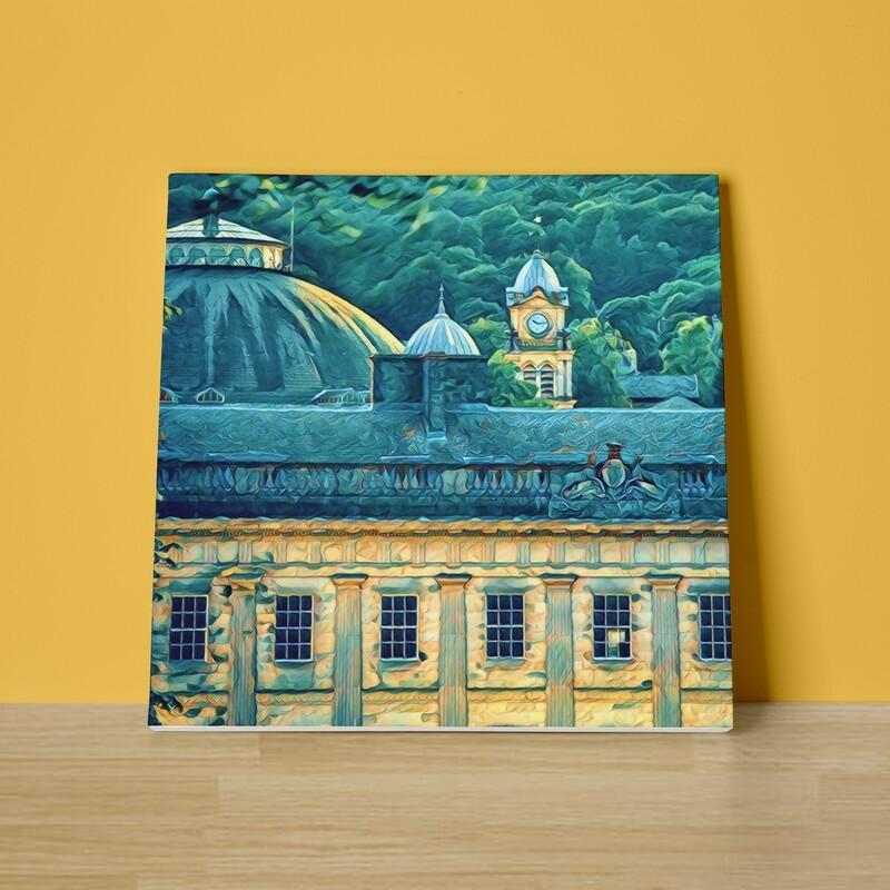 Buxton Skyline Canvas Print