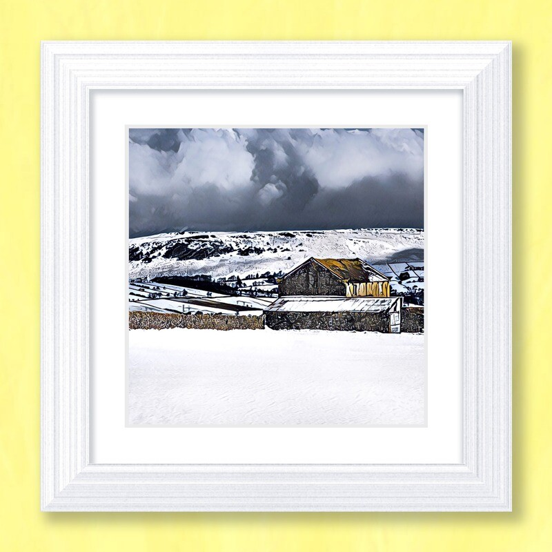 A Winter Day Art Print